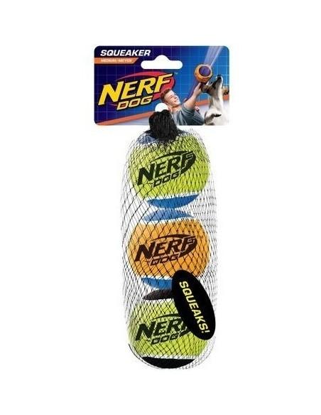 Juguete Nerf Squeak T. Balls 3ud S negro/asst.