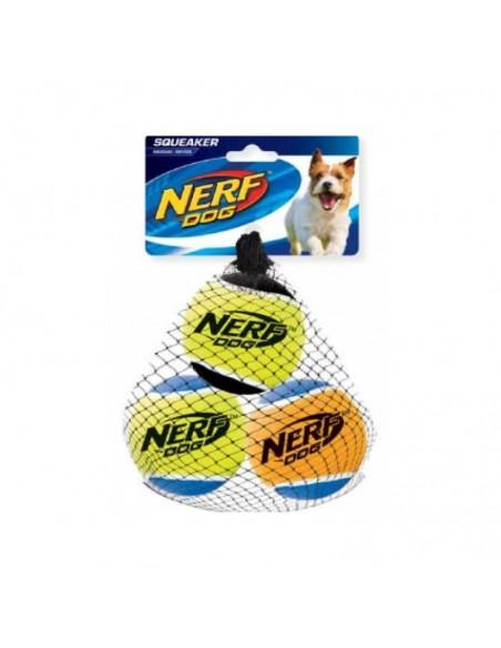 Juguete Nerf Squeak T. Balls 3ud M negro/asst.