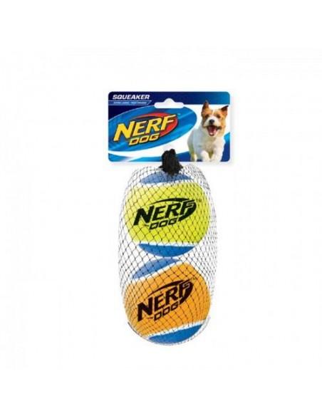 Juguete Nerf Squeak T. Balls 2ud L negro/asst.