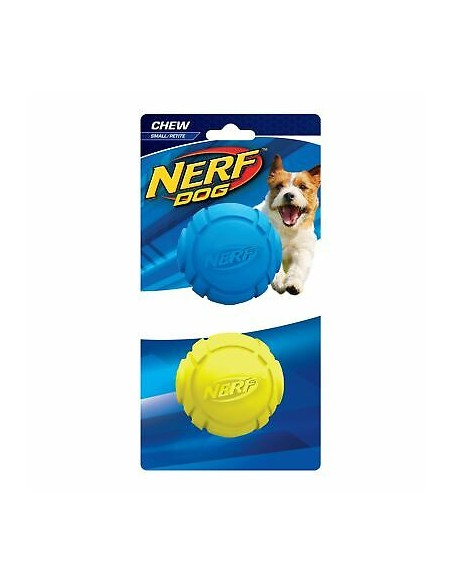 Juguete Nerf Rubber Curve Ball 2ud S azul/verde